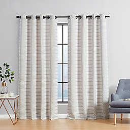 Urban Thread® Ranchester 108-Inch Grommet Room Darkening Window Curtain Panel in White