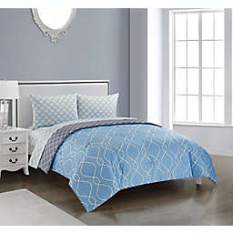 Elville 5-Piece Reversible Comforter Set