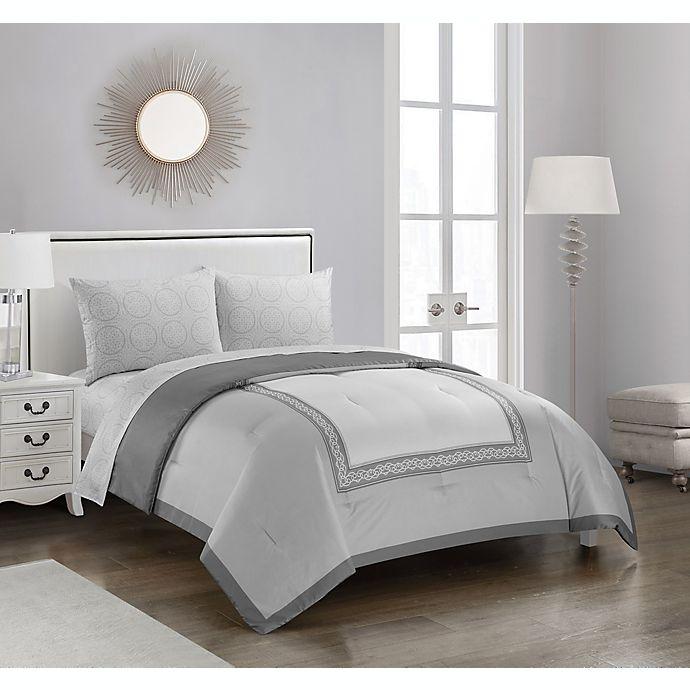 Alternate image 1 for Gorham 5-Piece Reversible Comforter Set