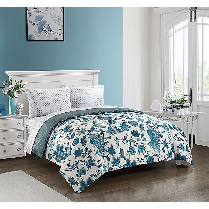 Alternate image 1 for Kirkland 5-Piece Reversible Comforter Set