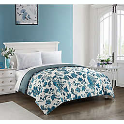 Kirkland 5-Piece Reversible Queen Comforter Set