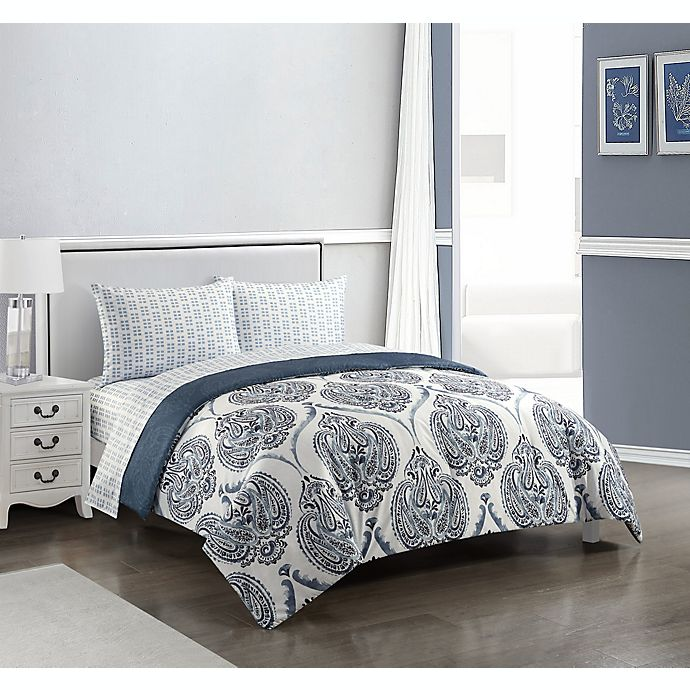 Alternate image 1 for Laurel Lane 5-Piece Reversible Comforter Set