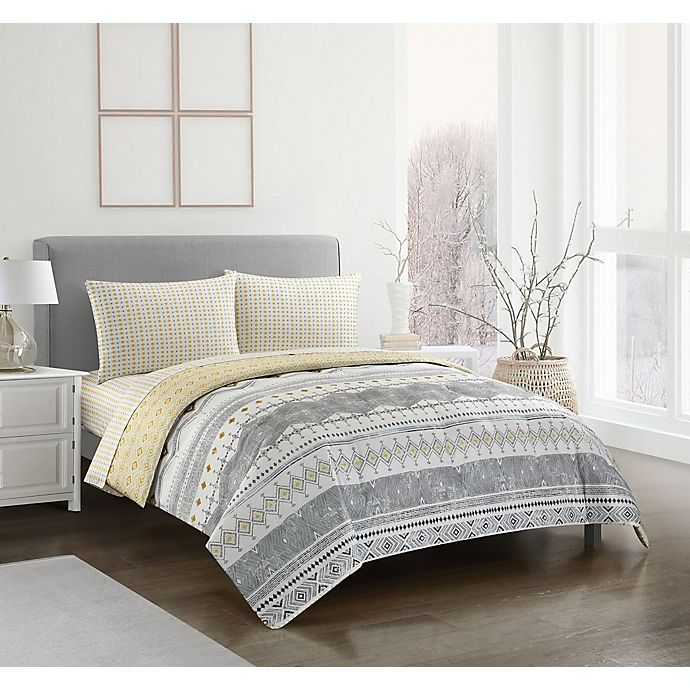 Alternate image 1 for Vershire 5-Piece Reversible Comforter Set