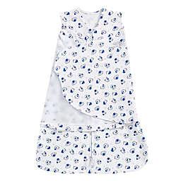 HALO® SleepSack® Small Doggy Adjustable Swaddle in White/Blue