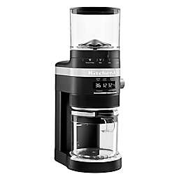 KitchenAid® Burr Coffee Grinder in Matte Black