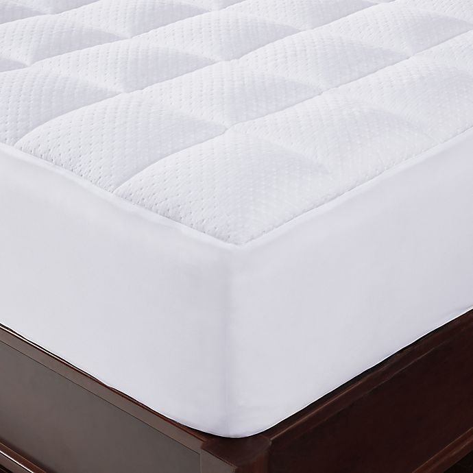Alternate image 1 for Brookstone® Thermo-Stat™ Mattress Pad