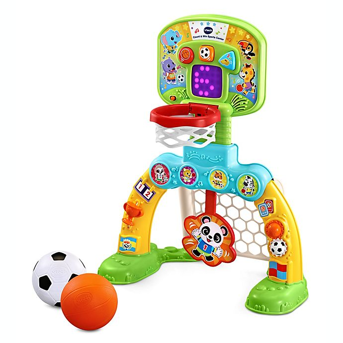 Alternate image 1 for VTech® Count and Win Sports Center in Green/Yellow