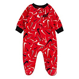Nike® Scribble Swoosh Footed Coverall