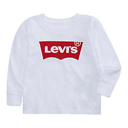 Levi's® Size 9M Batwing Long Sleeve Shirt in White