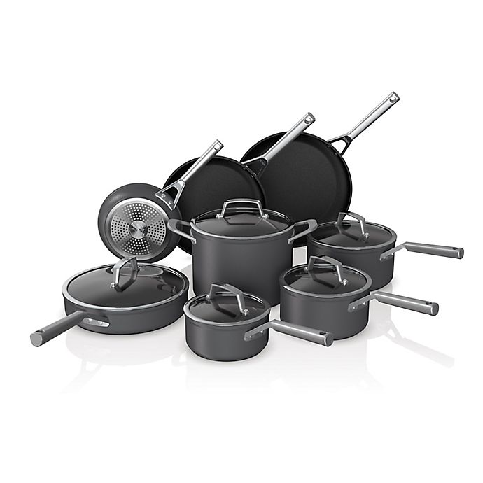 Alternate image 1 for Ninja™ Foodi™ NeverStick™ Premium Hard-Anodized 13-Piece Cookware Set