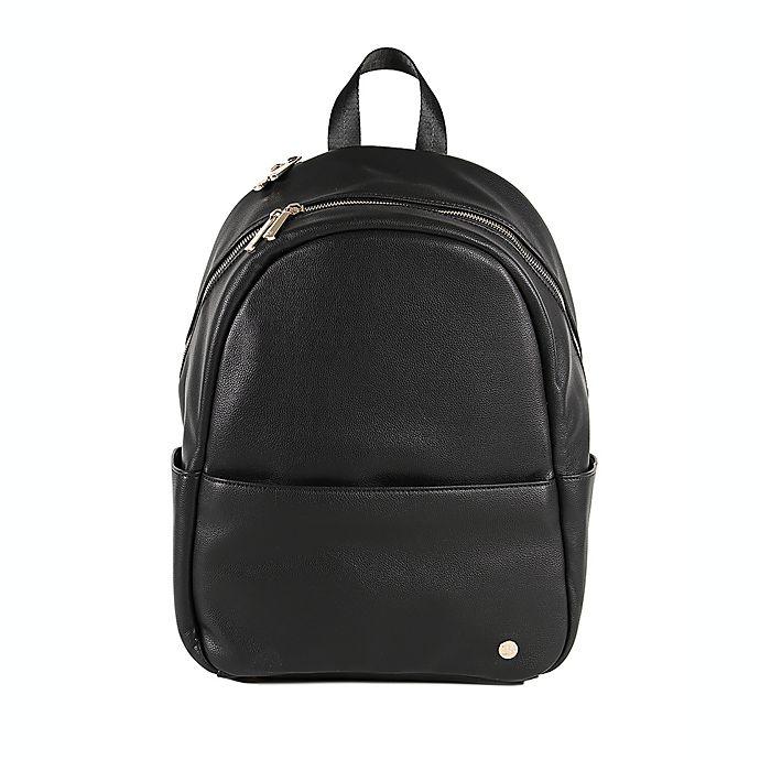 Alternate image 1 for Little Unicorn Skyline Faux Leather Diaper Backpack