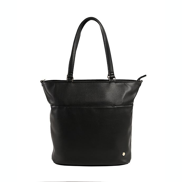 Alternate image 1 for Little Unicorn Citywalk Faux Leather Diaper Tote