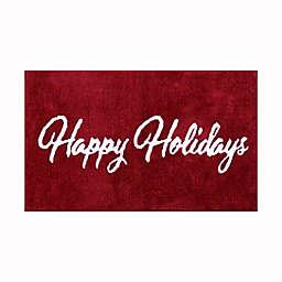 WW Happy Holidays Red 1'8 x 2'9