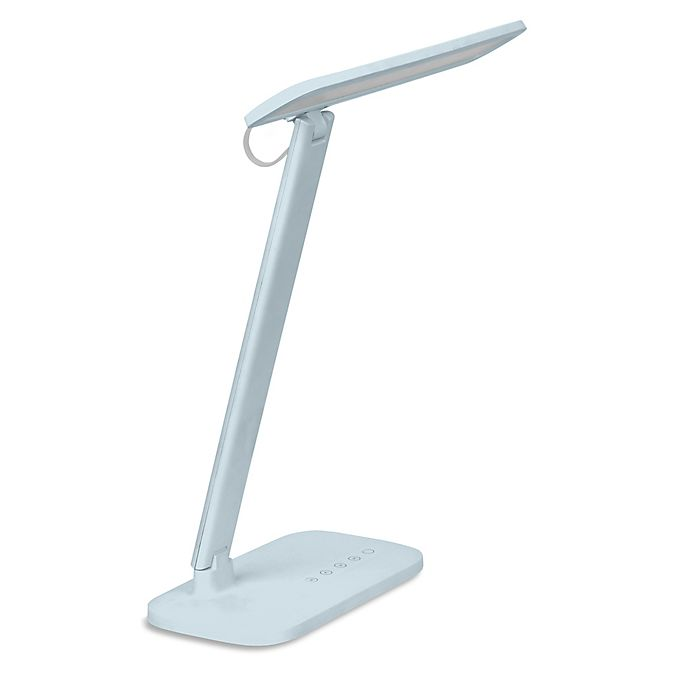Alternate image 1 for iHome RDG LED Reading Lamp in Pastel Pink with USB Charger, Flexible Head and Dimmer