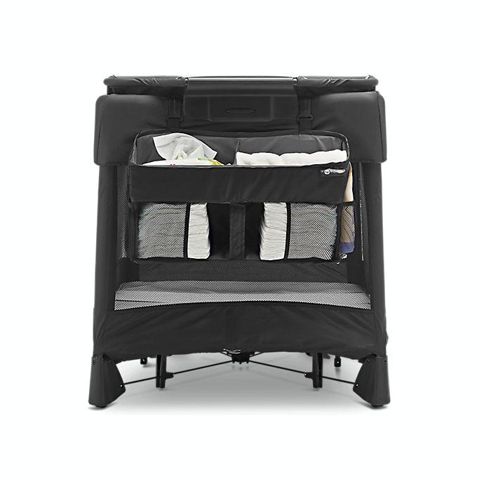 Alternate image 1 for 4moms® Breeze® Diaper Storage Caddy in Black
