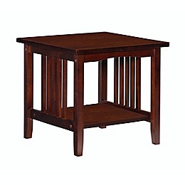 Mitchell End Table in Espresso