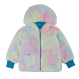 Sovereign Code® Gracie Faux Fur Hoodie in Tie Dye