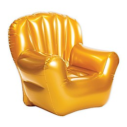 AirCandy Classic Inflatable Arm Chair in Metallic Gold