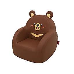 Dwinguler Kid's Big Bear Sofa in Brown