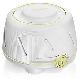 Yogasleep Dohm White Noise Sound Machine in White/Green