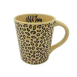 """Wild Thing"" Coffee Mug in Leopard"