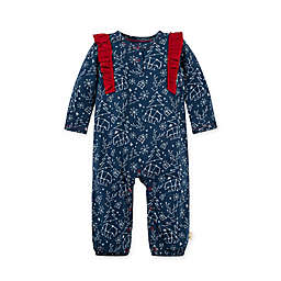 Burt's Bees Baby® Size 3-6M Holiday in the Stars Organic Cotton Jumpsuit