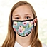 Part of the Floral Print Personalized Kids Face Mask