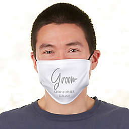 Classic Elegance Groom Adult Deluxe Face Mask with Filter
