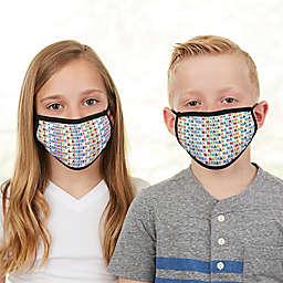 Vibrant Name Kids Face Mask