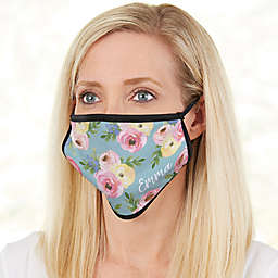 Floral Print Adult Face Mask
