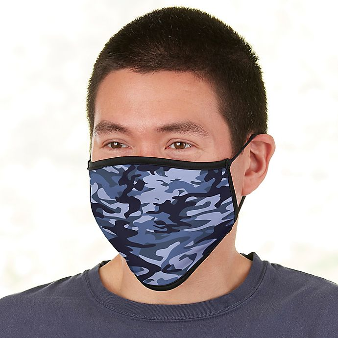 Alternate image 1 for Camo Adult Face Mask