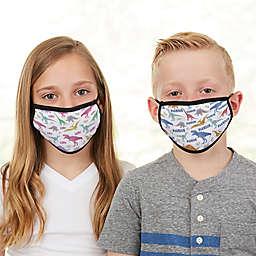 Dinosaur Pattern Kids Face Mask