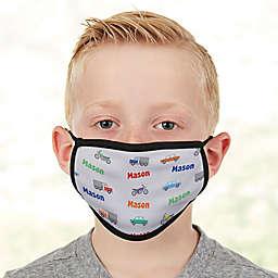 Modes Of Transportation Kids Face Mask