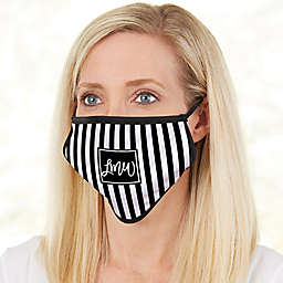 Pattern Play Monogram Adult Face Mask
