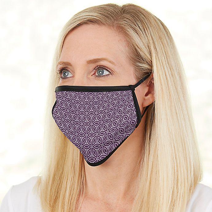 Alternate image 1 for Ladies Custom Pattern Adult Face Mask