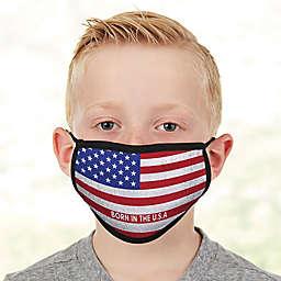 American Flag  Kids Face Mask