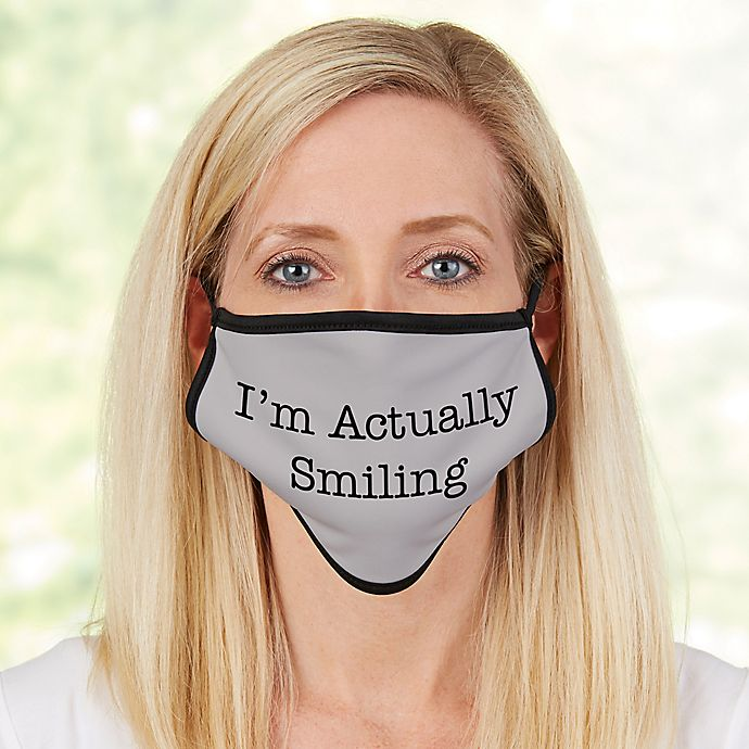 Alternate image 1 for Ladies Expressions Adult Face Mask