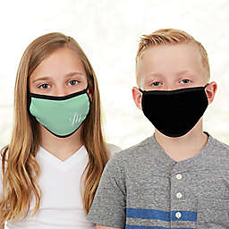 Solid Monogram Kids Face Mask