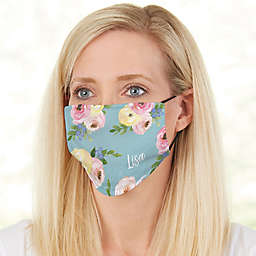Floral Print Adult Deluxe Face Mask with Filter