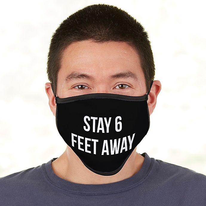 Alternate image 1 for Men's Expressions  Adult Face Mask
