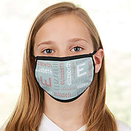 Youthful Name For Girls Kids Face Mask