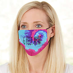 Tie Dye Fun Adult Deluxe Face Mask with Filter