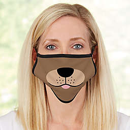 Dog Face For Her Adult Face Mask