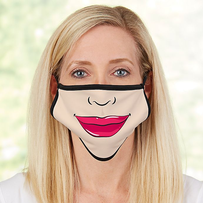 Alternate image 1 for Choose Your Expression  Adult Face Mask For Her