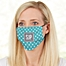 Part of the Pattern Play Monogram Adult Deluxe Face Mask with Filter