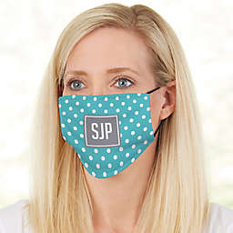 Pattern Play Monogram Adult Deluxe Face Mask with Filter