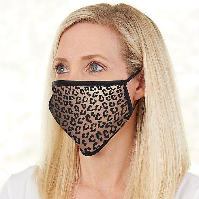 Alternate image 1 for Leopard Print Adult Face Mask