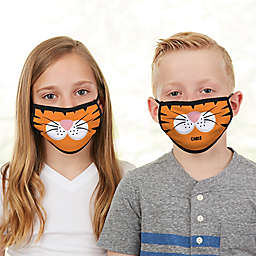 Tiger Face Personalized Kids Face Mask