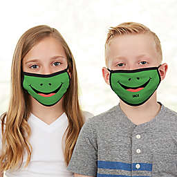 Frog Face Personalized Kids Face Mask