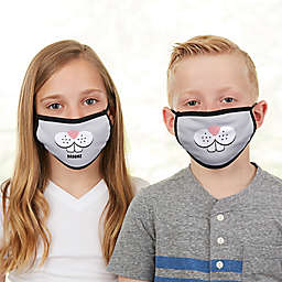 Bunny Face Personalized Kids Face Mask